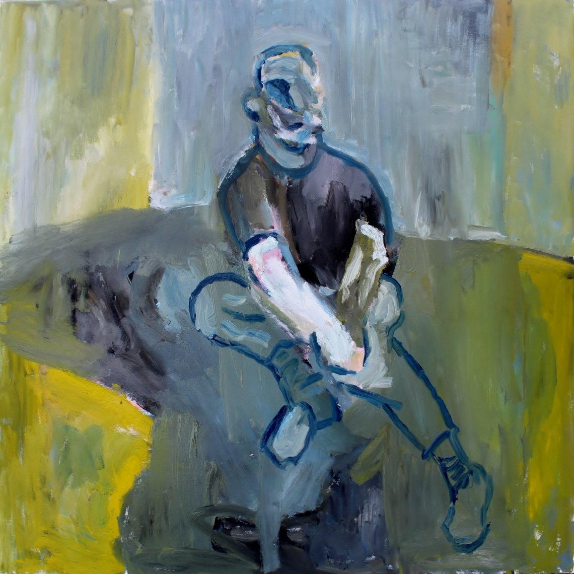 Study for a portrait of Francis Bacon IV as a character in Samuel Beckett's Waiting for Godot wip