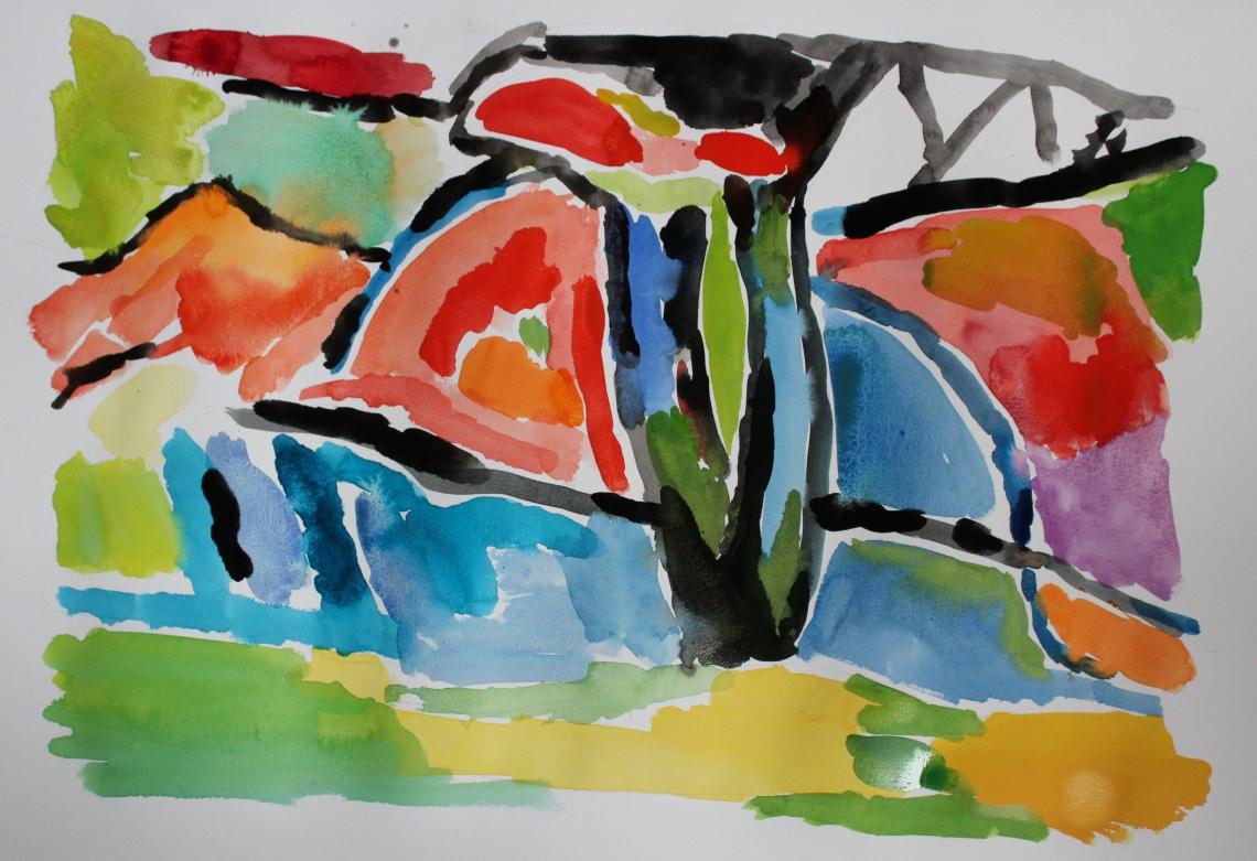 autumn colours watercolour 3