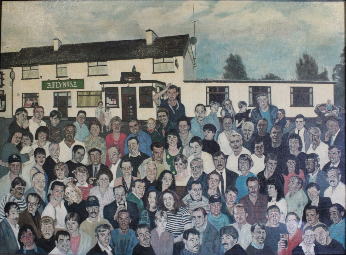 The Miners Bar Arigna Co Roscommon in 1998
