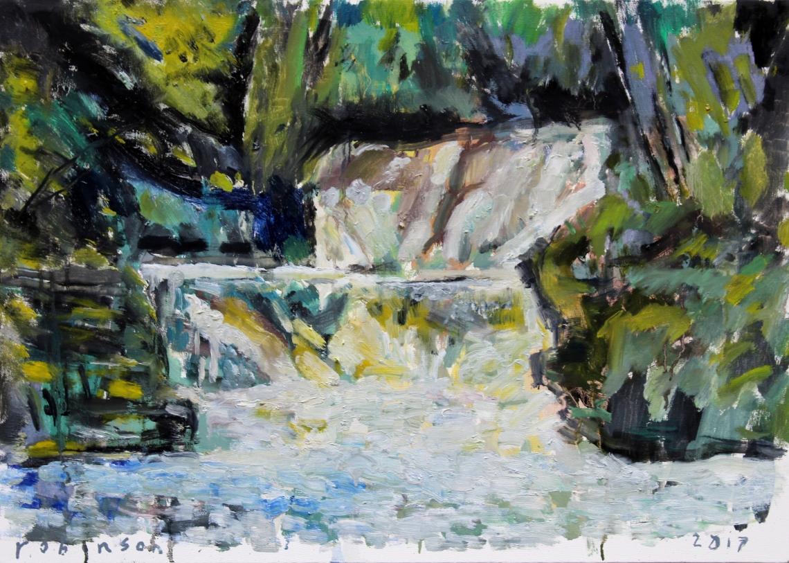wild water fall