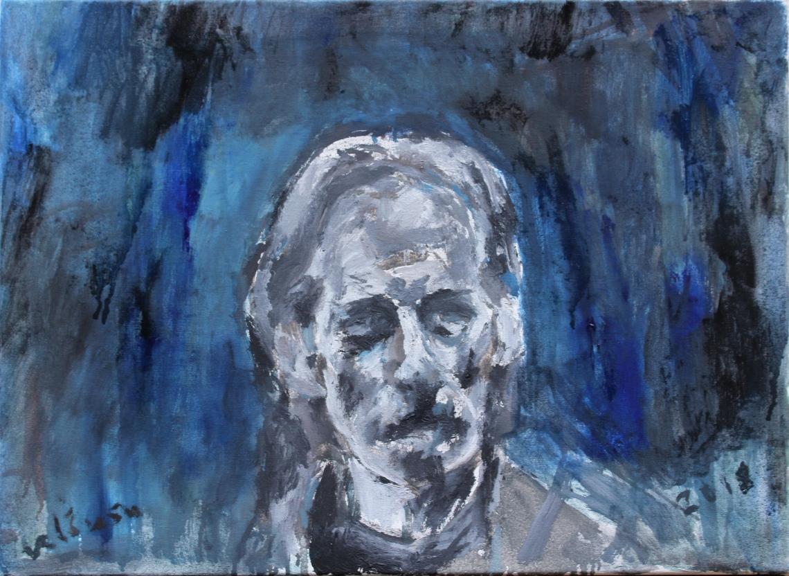 november 2018 self-portrait background completed