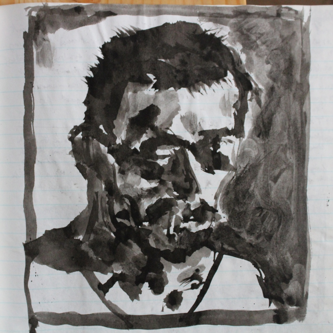 self-portrait aug 1990