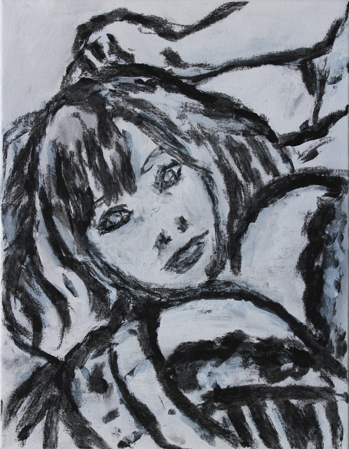 hitomi charcoal