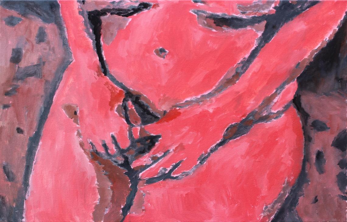 cadmium red burnt sienna