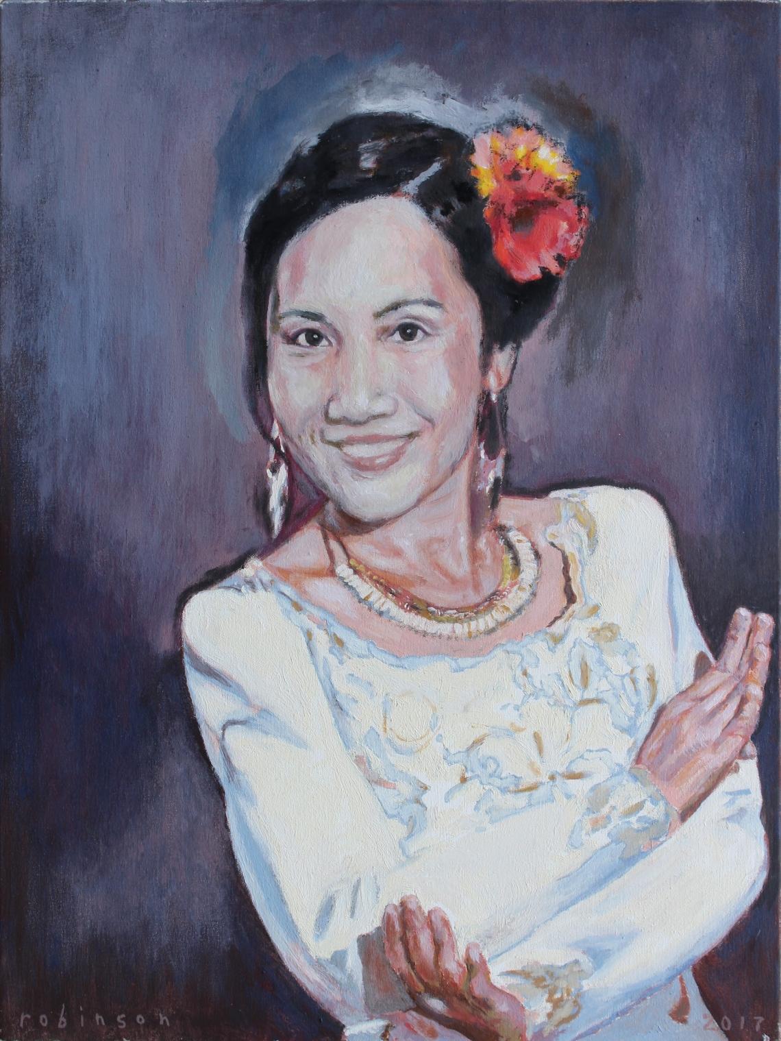 reworking maew portrait