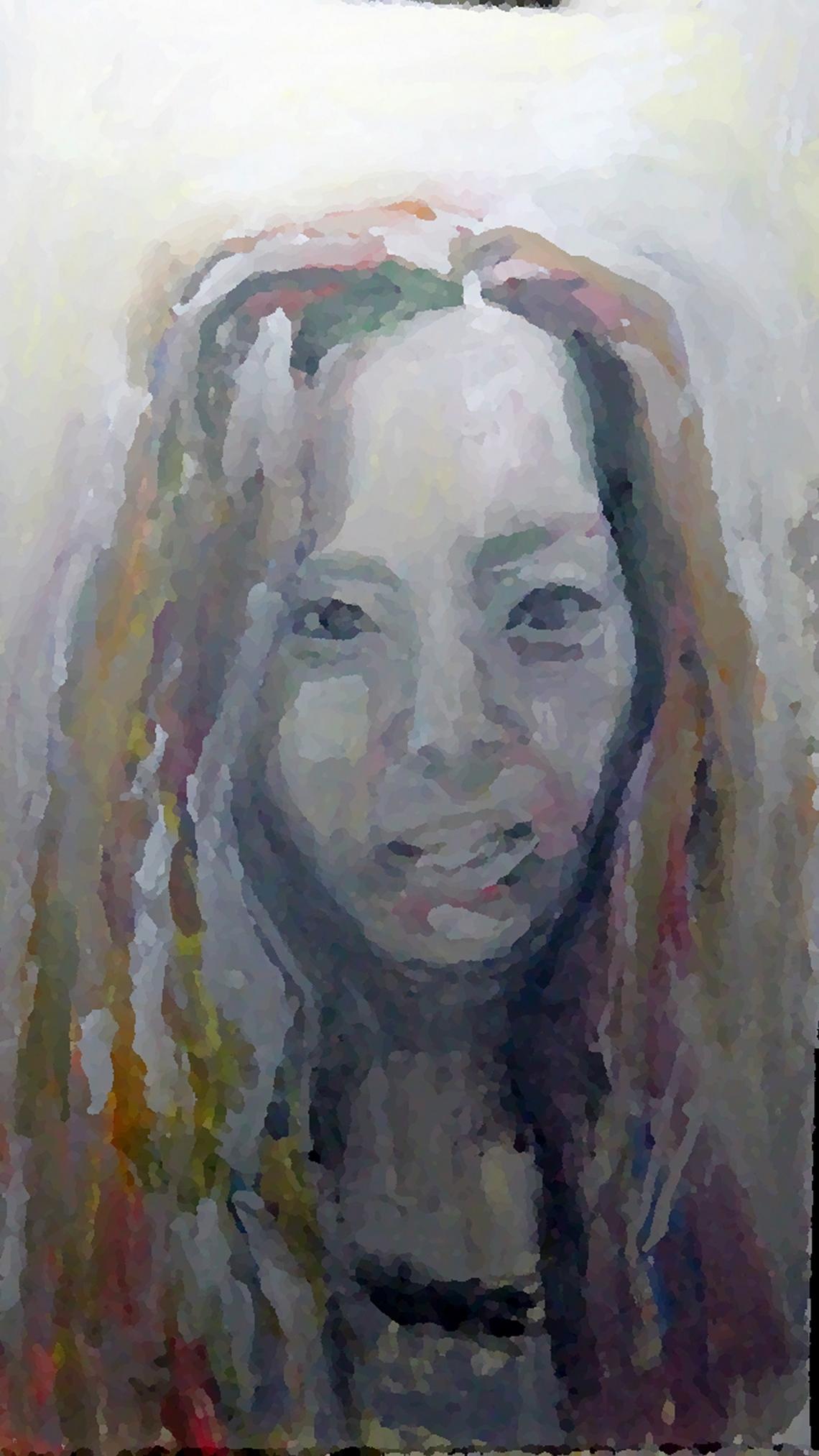 Oil sketch digitally remastered