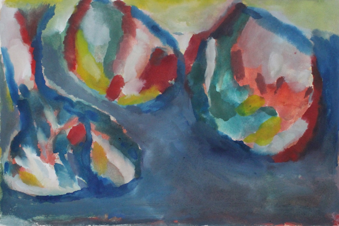 watercolour abstract